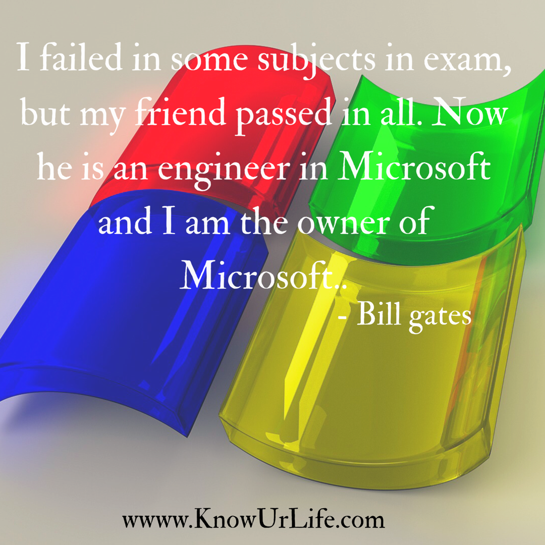 Bill Gates motivational quotes