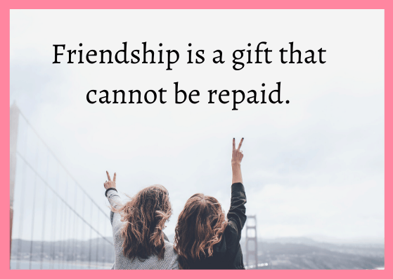 good thought about friends