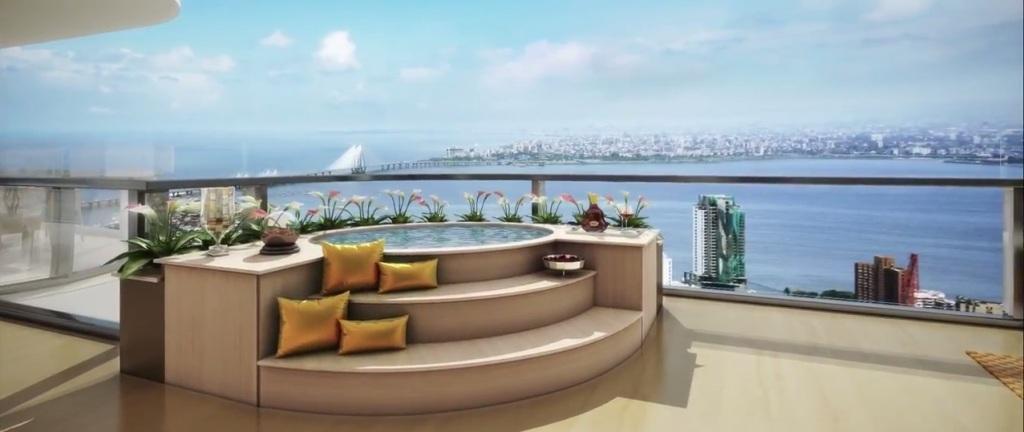 virat kohli & Anushka Sharma House Balcony