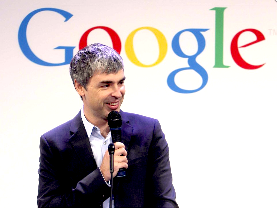 larry page from google