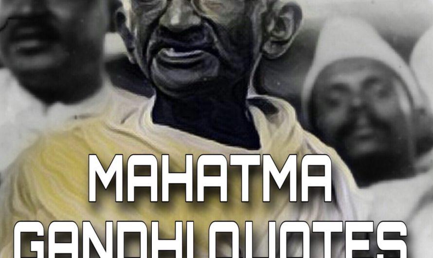100+ *बेस्ट महात्मा गांधीजी के सुविचार*, Mahatma Gandhi Quotes In Hindi, Images, Sms – 2020