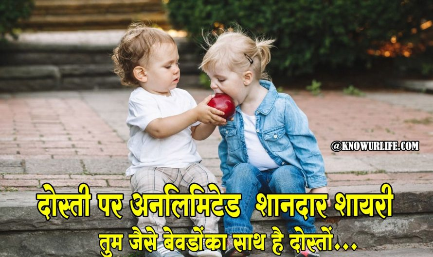Friendship Shayari In Hindi | Friendship Day Sms | Dosti Shayari – 2020