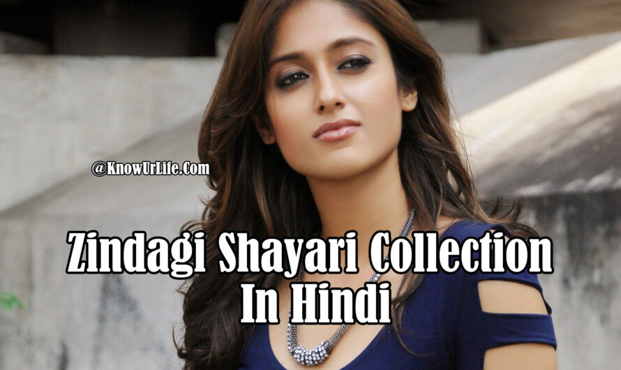 Best Zindagi Shayari (2020)  | Hindi Shayari Collection | ज़िन्दगी पर शायरी |