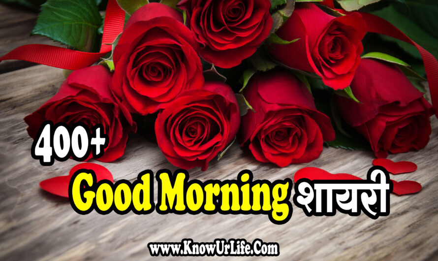 Top 400+ Good Morning Shayari (2020) | सुप्रभात Status & Sms Collection |