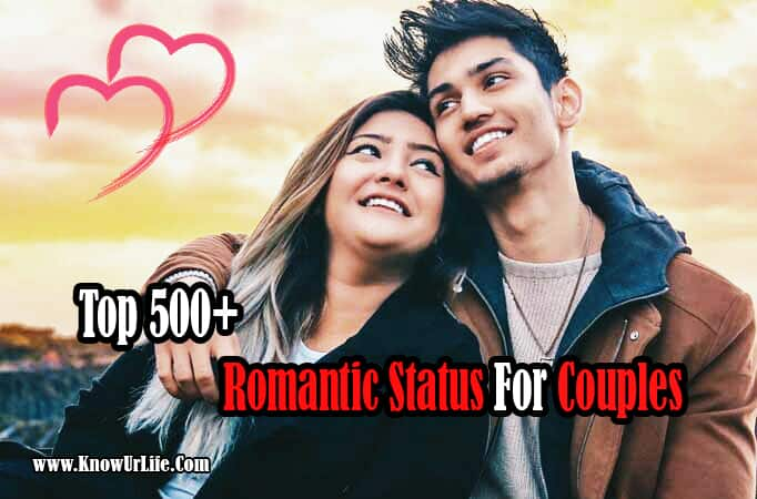{Top} 500+ Romantic Status Collection For Couples (2020) | Best Shayari |