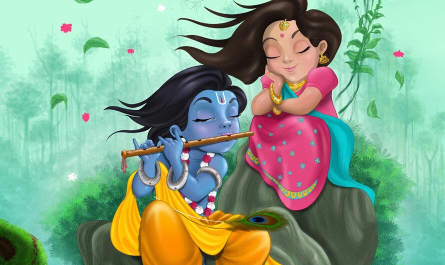 201+ राधा कृष्णा के प्यार भरे सुविचार (2020) | Radha Krishna Quotes Collection